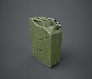 3d jerry cans