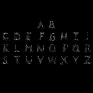 web letter alphabet model