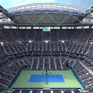 arthur ashe stadium open max