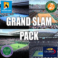 Tennis Grand Slam Pack