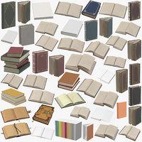 3D books 01 model