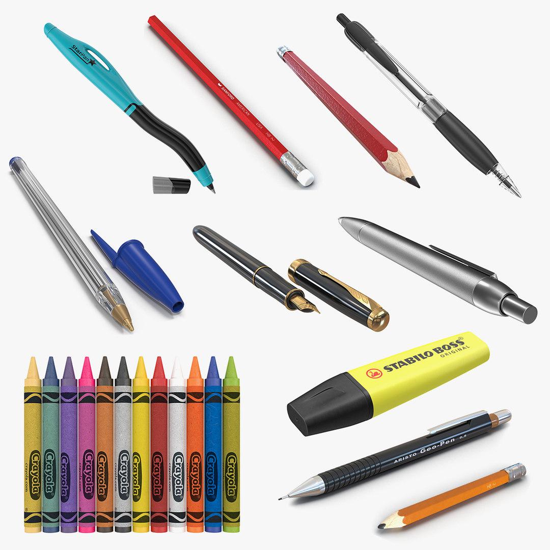 3D pens pencils 3