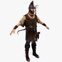 3d model archer armenian