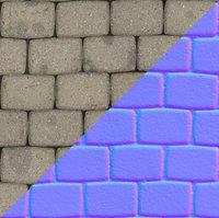 Block Paving Texture