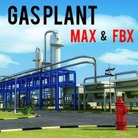 gas treatment plant power 3ds
