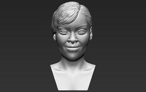 3D rihanna ready printing stl