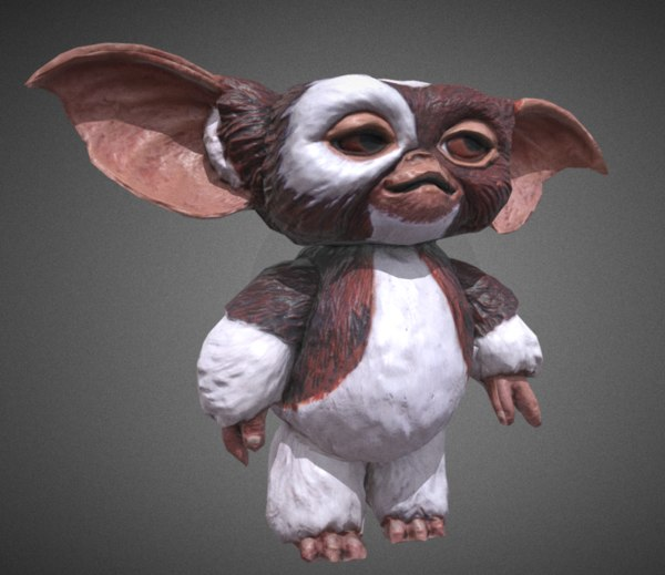 Gremlin Gizmo 3d Model Turbosquid 1214181 They made their debut in the 1984 film gremlins and then reappeared in its sequel gremlins 2: gremlins gizmo