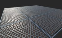 Metal Panel Hexagon
