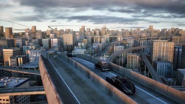 c4d city