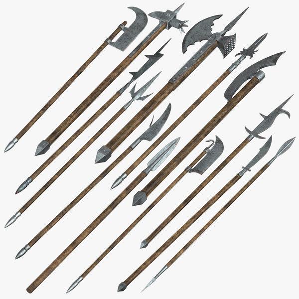 spears bardiche corseques model