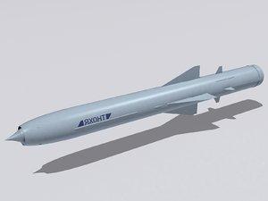 3d 3ds 3m55 yahont missile