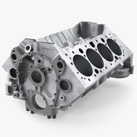 3D engine block