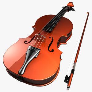 violin settings stl 3ds