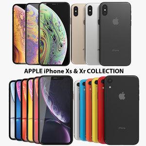 realistic apple iphone xs 3D model