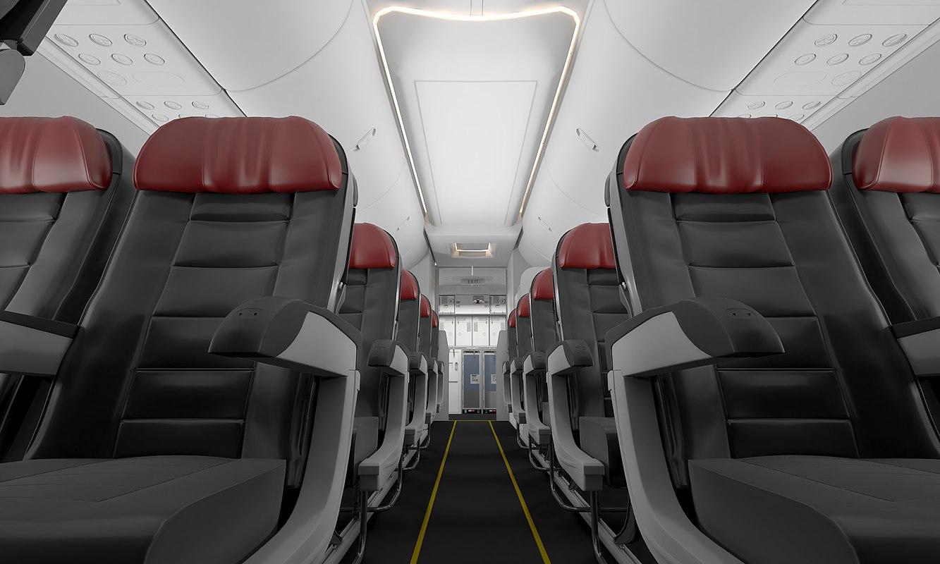 cabin interior 3D