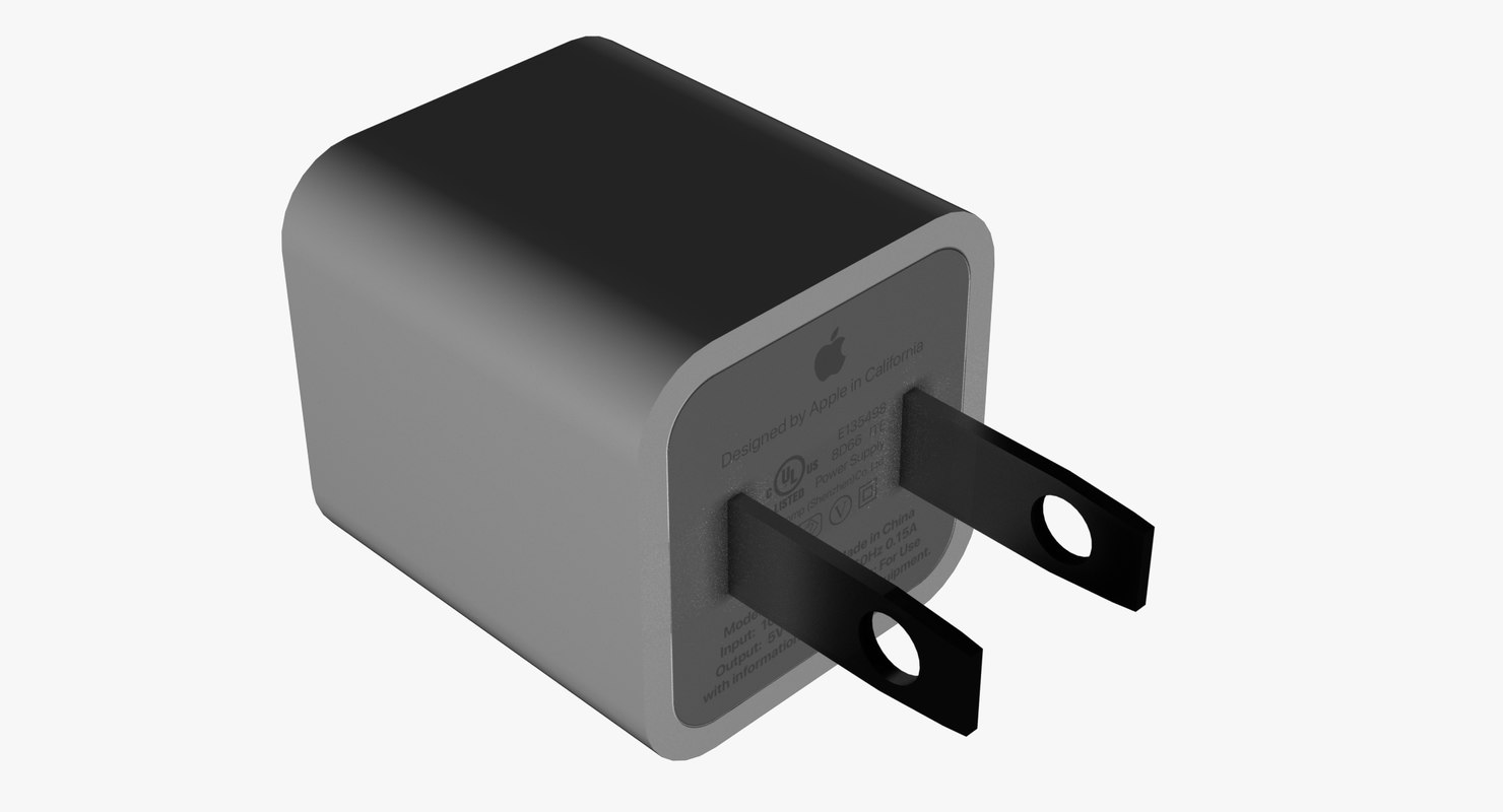 3D apple usb charger type
