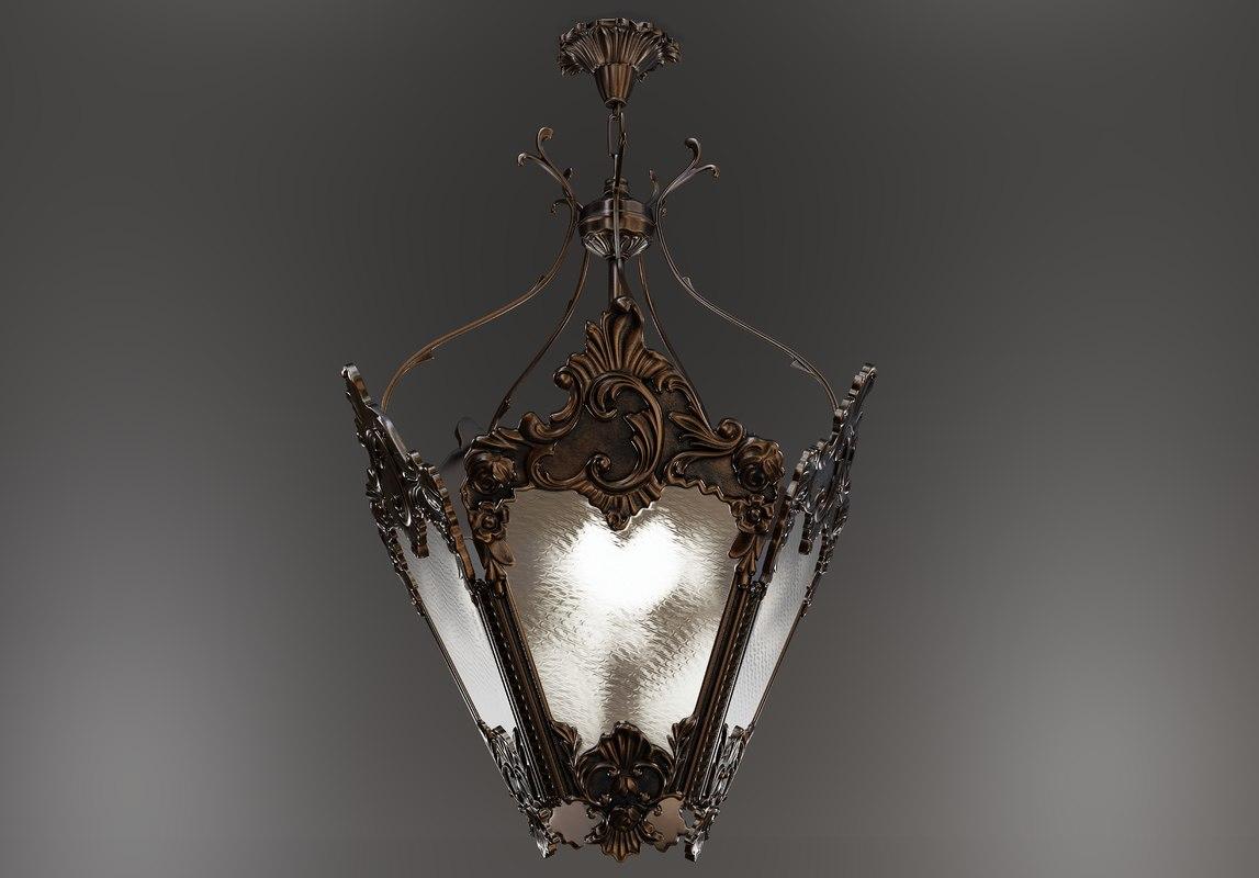 3D chandelier -