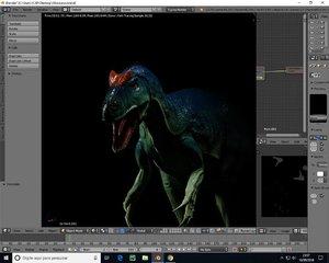 dino dinosaur 3D model