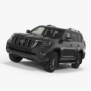 toyota prado 2018 3D model