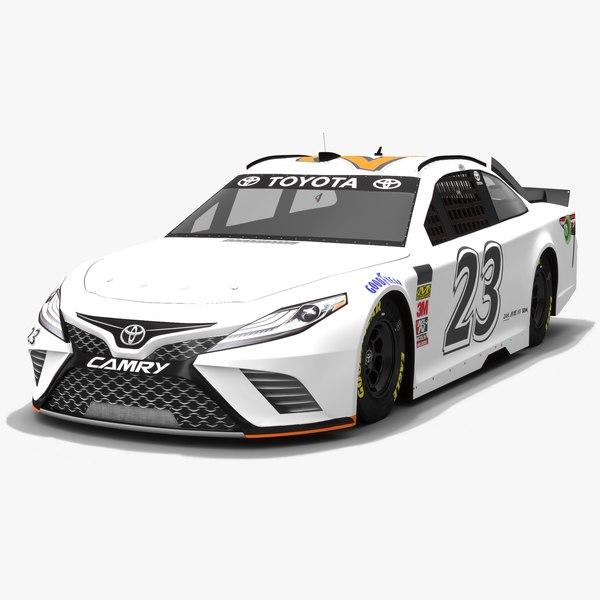 3D nascar toyota camry race car model