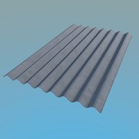 Slate Roof 1130x1750mm 8 Waves