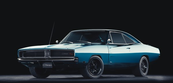 3d obj dodge charger 1969