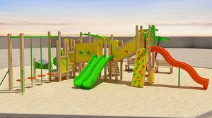 playground ground play 3d max
