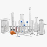 Lab Glassware Set
