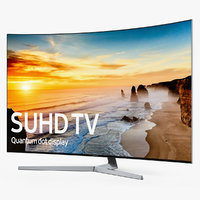 Samsung KS9500 Curved 4K SUHD TV 65 inch and One Remote Control