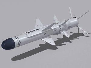 kh-35ue missile ship 3d 3ds