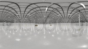HDRI - Warehouse Interior 10