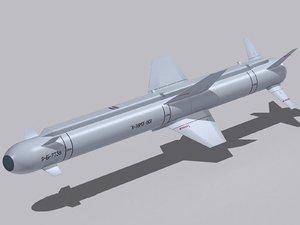 missiles kh-38me 3d 3ds