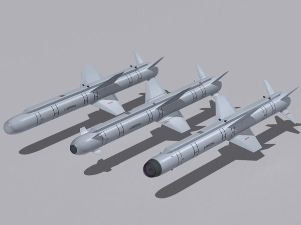 3d air-to-surface missiles kh-38me family model