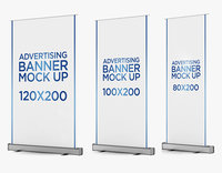 Banner Stand Roll up 3 in 1