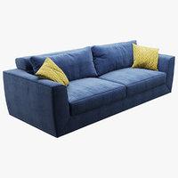 sofa realistic photorealistic 3D model