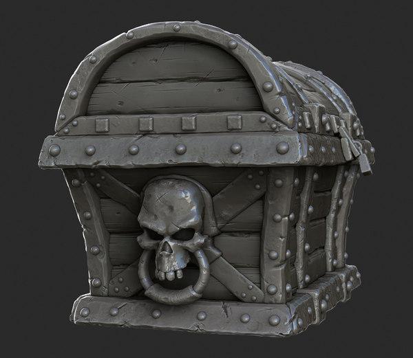 max pirate treasure chest