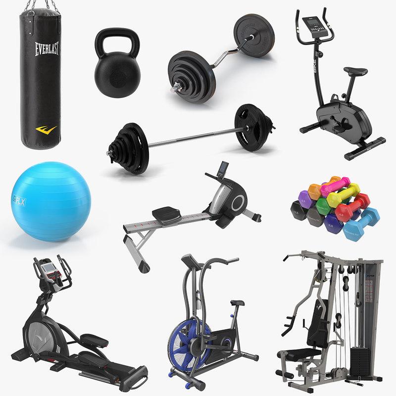3D model gym 2