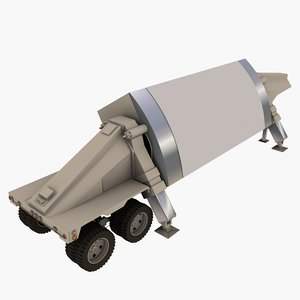 3d thaad radar model