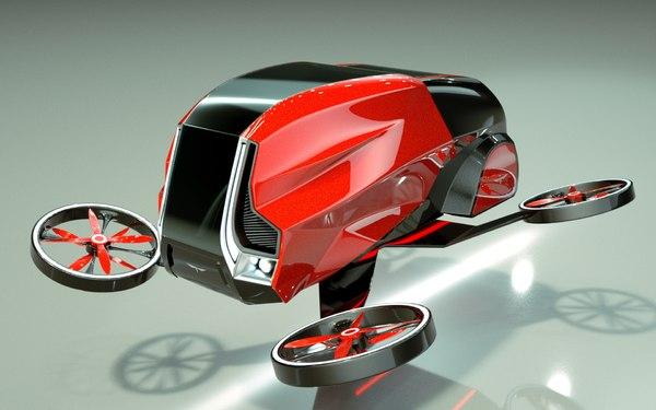 car copter model