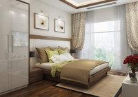bedroom bed 3D model