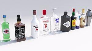 drinks 3D model