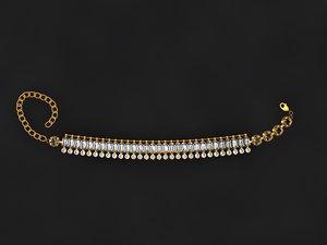 3D model bracelet mold ready