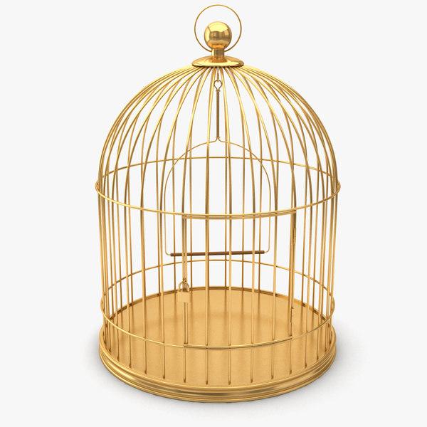 3d bird cage birdcage