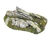 3D model rocky cliffs 16k rocks