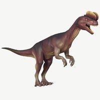dilophosaurus 3d obj