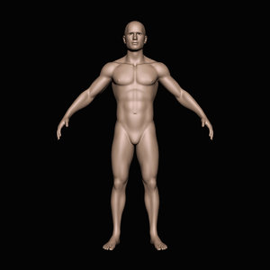 x human male