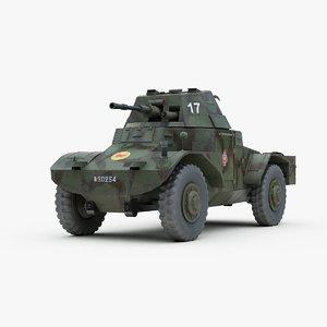 3d 3ds ww2 panhard 178