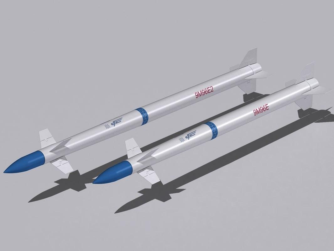 3d 9m96e missiles 9m96