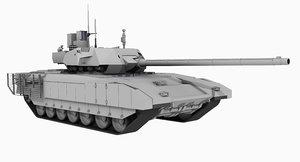 t14 armata games 3D model
