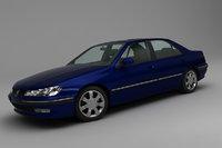 3D peugeot 406 sedan model